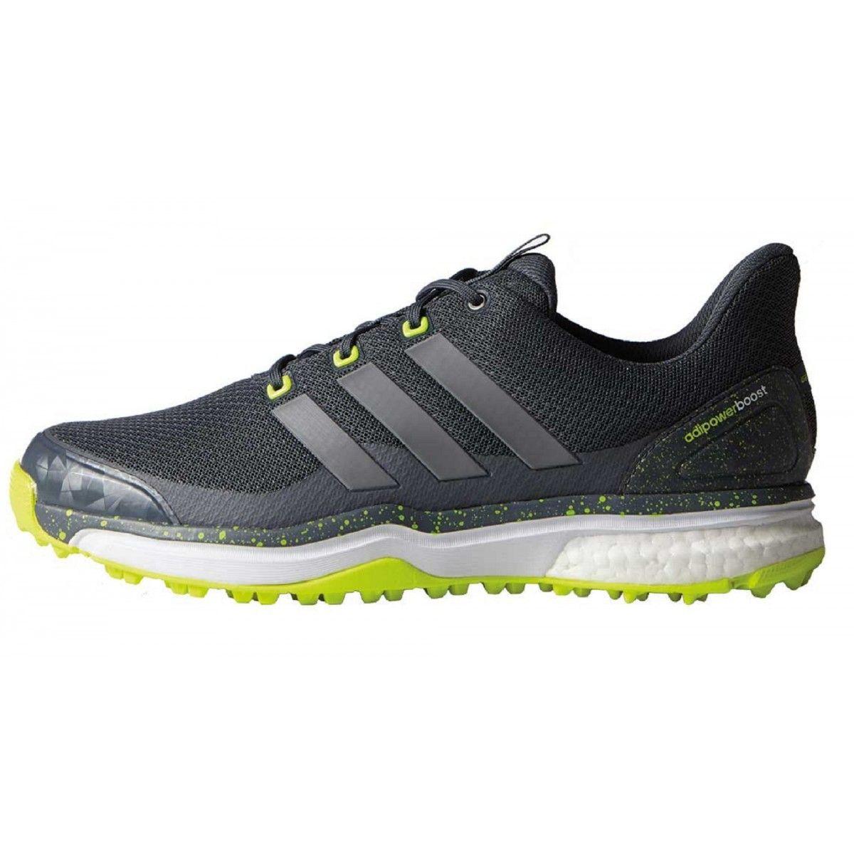 Adidas Adipower Sport Boost 2 F33218 Grey/Yellow Men's