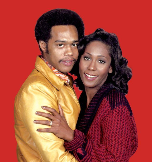 Still Of Mike Evans And Berlinda Tolbert In The Jeffersons Shows Look