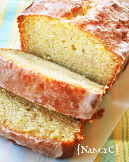 Banana Pound Cake with Banana Glaze #bananadessertrecipes