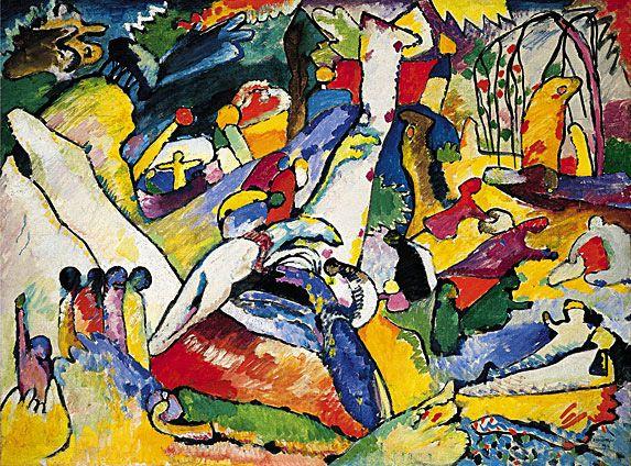 Kandinskij - studio per composizione II