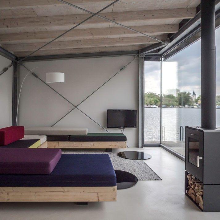 The Urban Rental A Modern Houseboat in Berlin La chaleur, Maisons