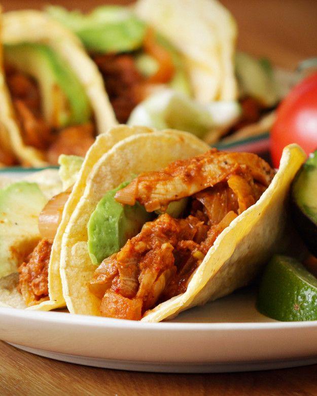 Tinga de Pollo Tacos