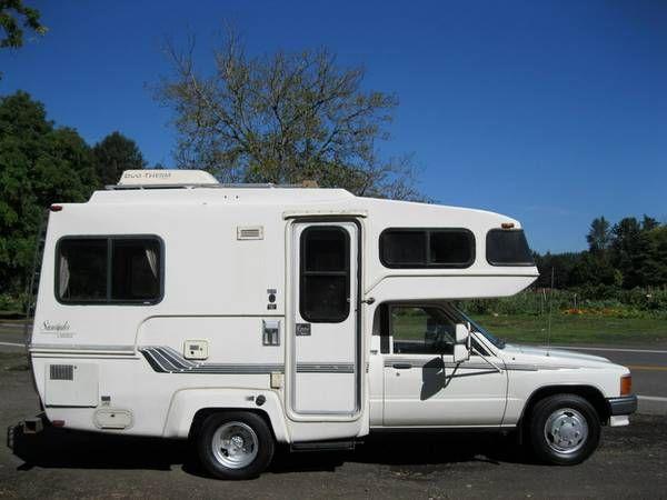 1988 Sunrader Rv Motorhomes Mini Motorhome Cool Rvs
