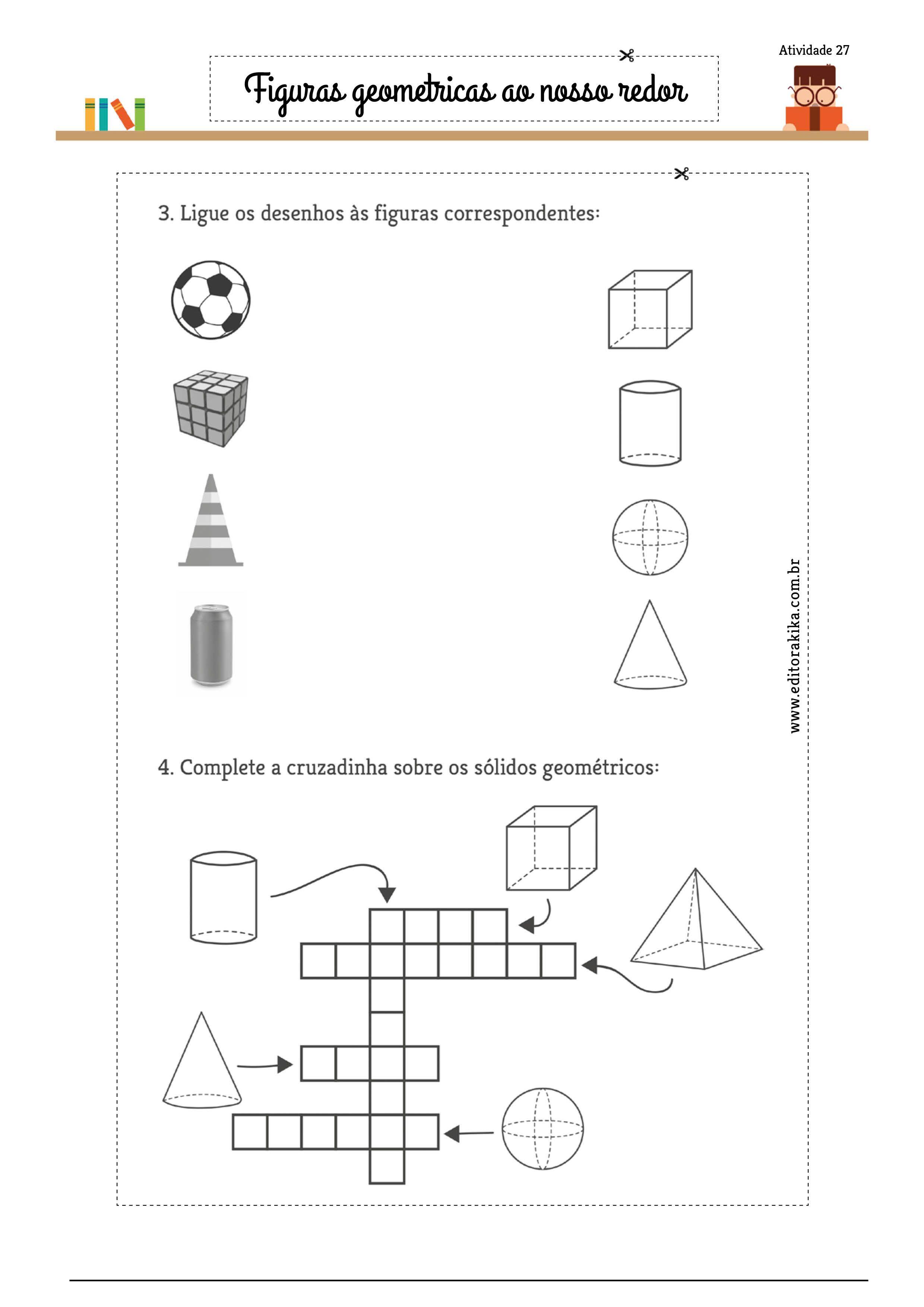 Nomear E Relacionar Figuras Geometricas A Objetos Conhecidos Ou