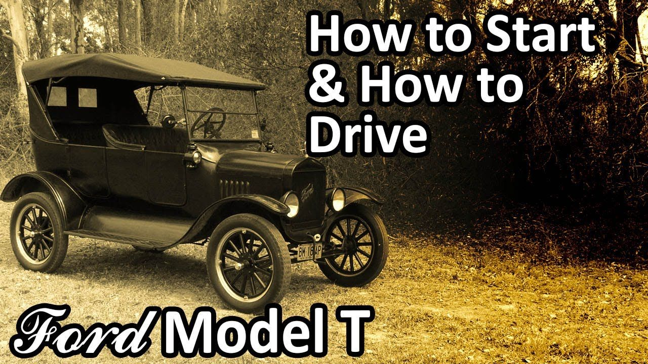 Mitch Taylor Has A Great Series Of Videos About How A Ford Model T