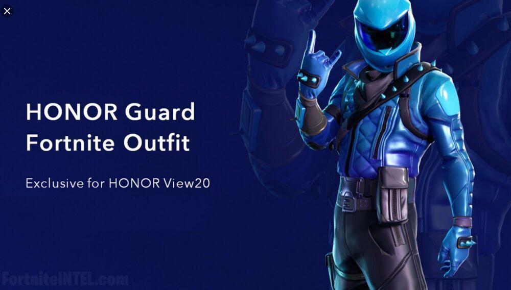 Epic Games Fortnite - RARE Honor Guard Skin Set - Huawei