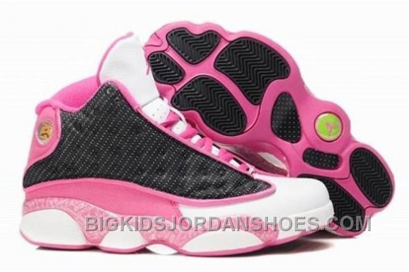 http   www.bigkidsjordanshoes.com purchase-disocunt-air-jordan -13-xiii-retro-women-shoes-online-black-pink-2016-new.html PURCHASE  DISOCUNT AIR JORDAN 13 ... 112944548
