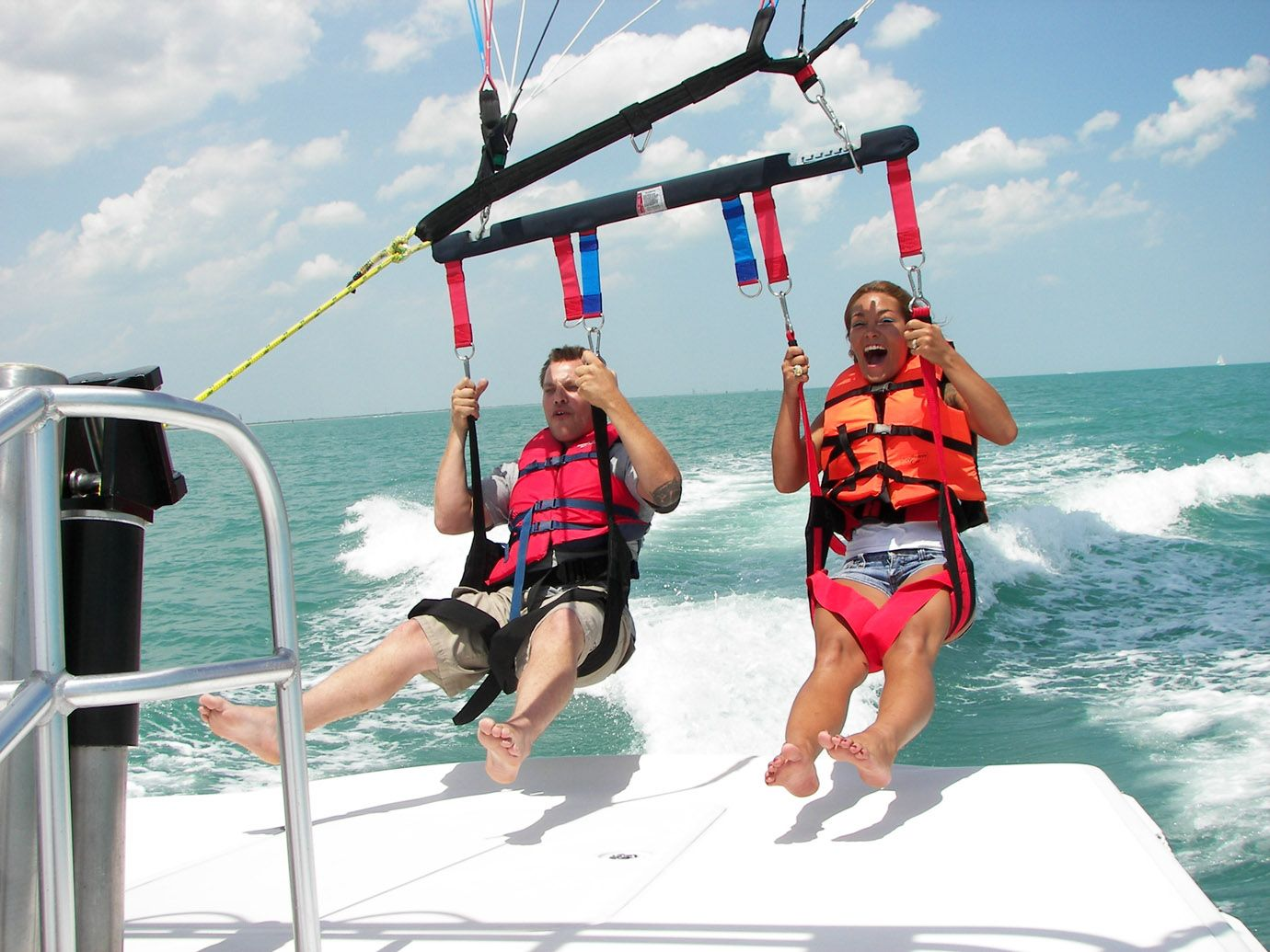 Parasailing In Destin