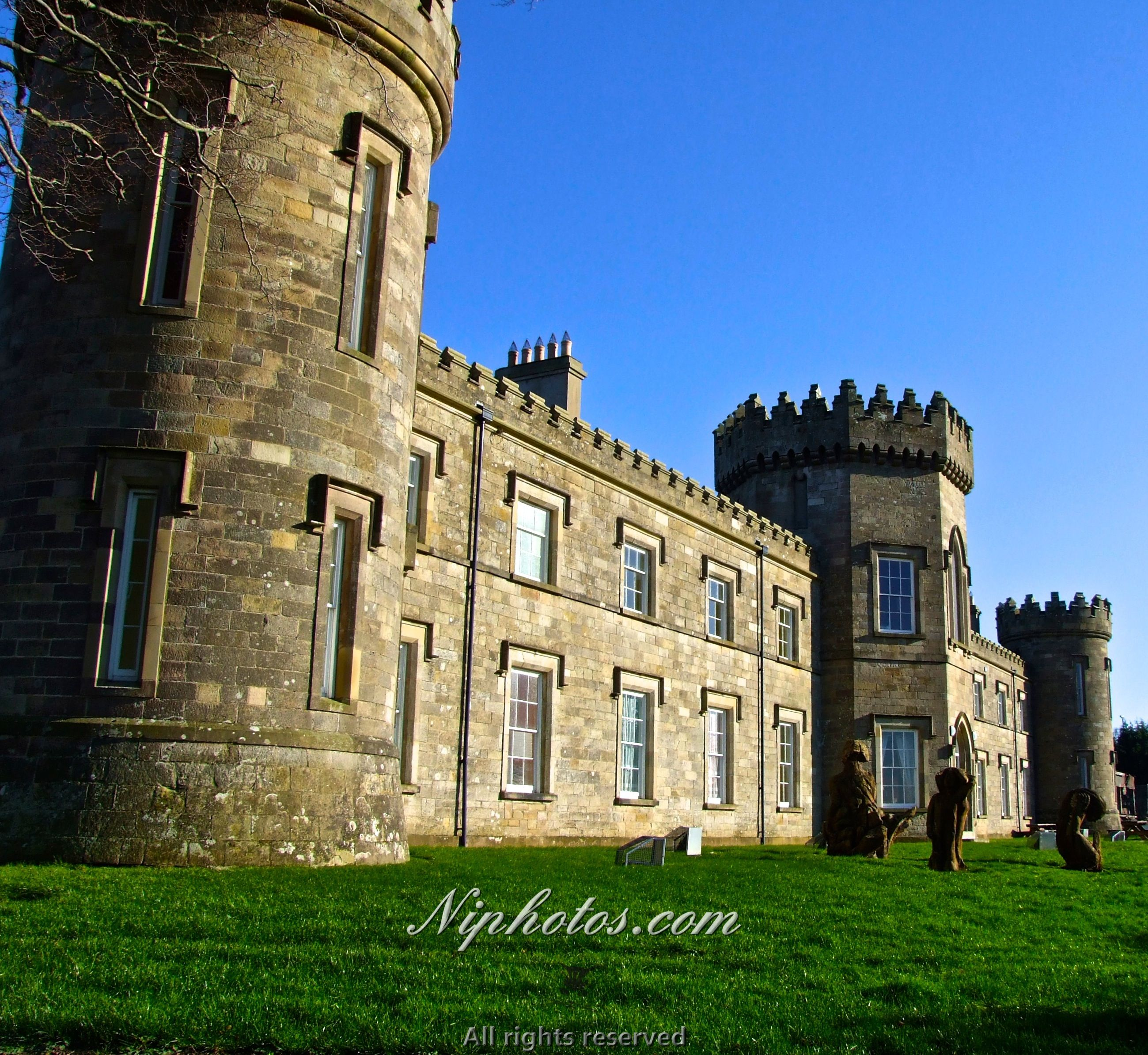 Dungiven castle in County Londonderry Northern Ireland