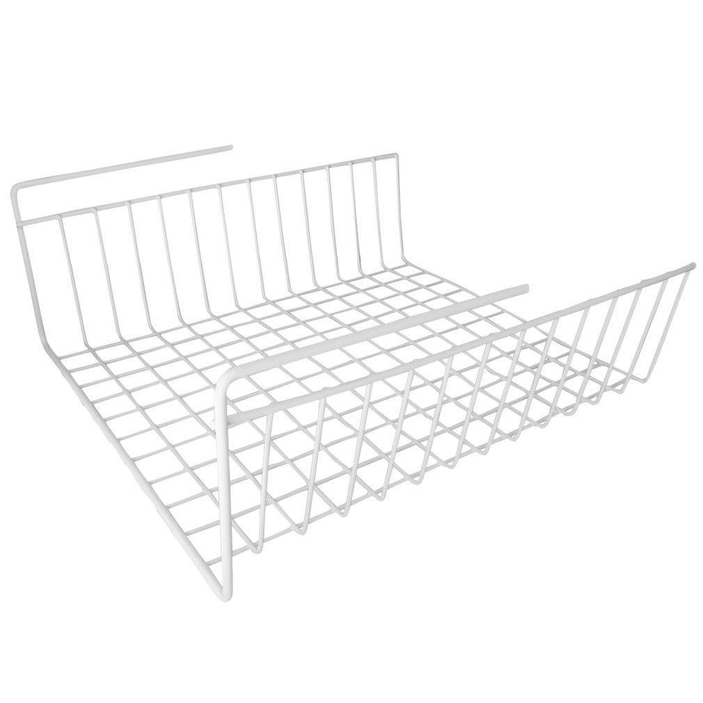 Evelots Under Shelf Wire Storage Rack, Kitchen Office Organizer ...