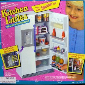 Kitchen Littles By Tyco Were The Most Detailed Realistic Tiny