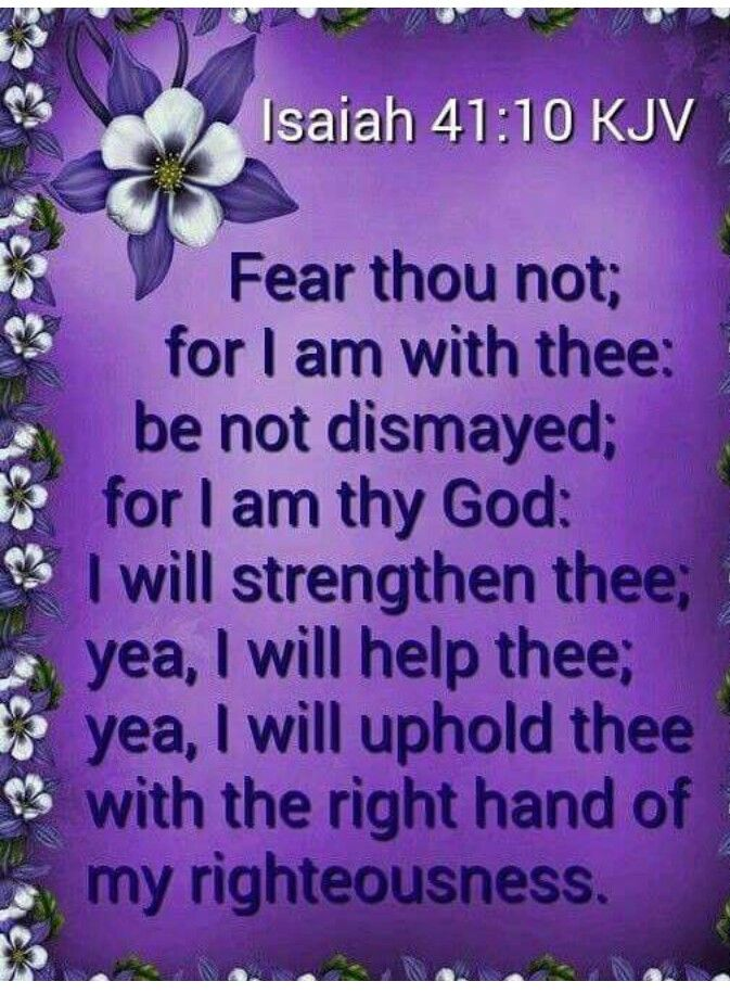 Only by Faith!