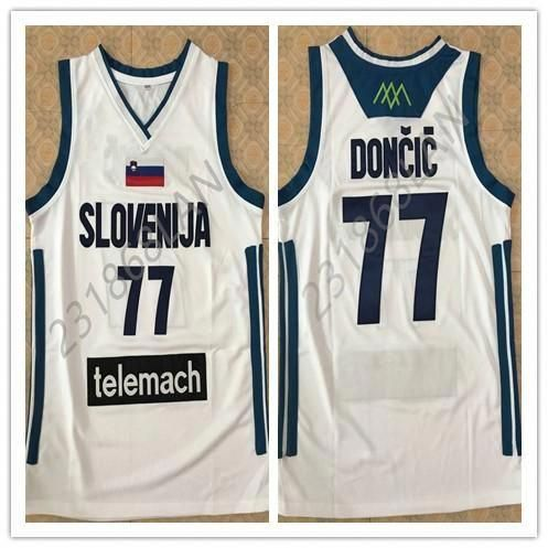 Online Cheap Luka Doncic Vintage Men S White Basketball Jersey Embroidery  Stitches Customize Any Size And Name By Vickylan23  dad929f5a