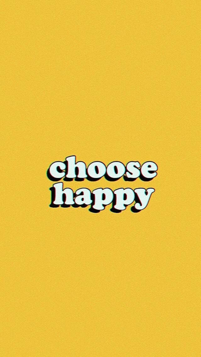 Positivity Changes Everything On We Heart It Happy Wallpaper Quote Aesthetic Wallpaper Quotes