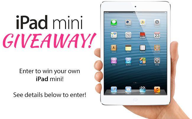 How to win iPad mini 2 for free!