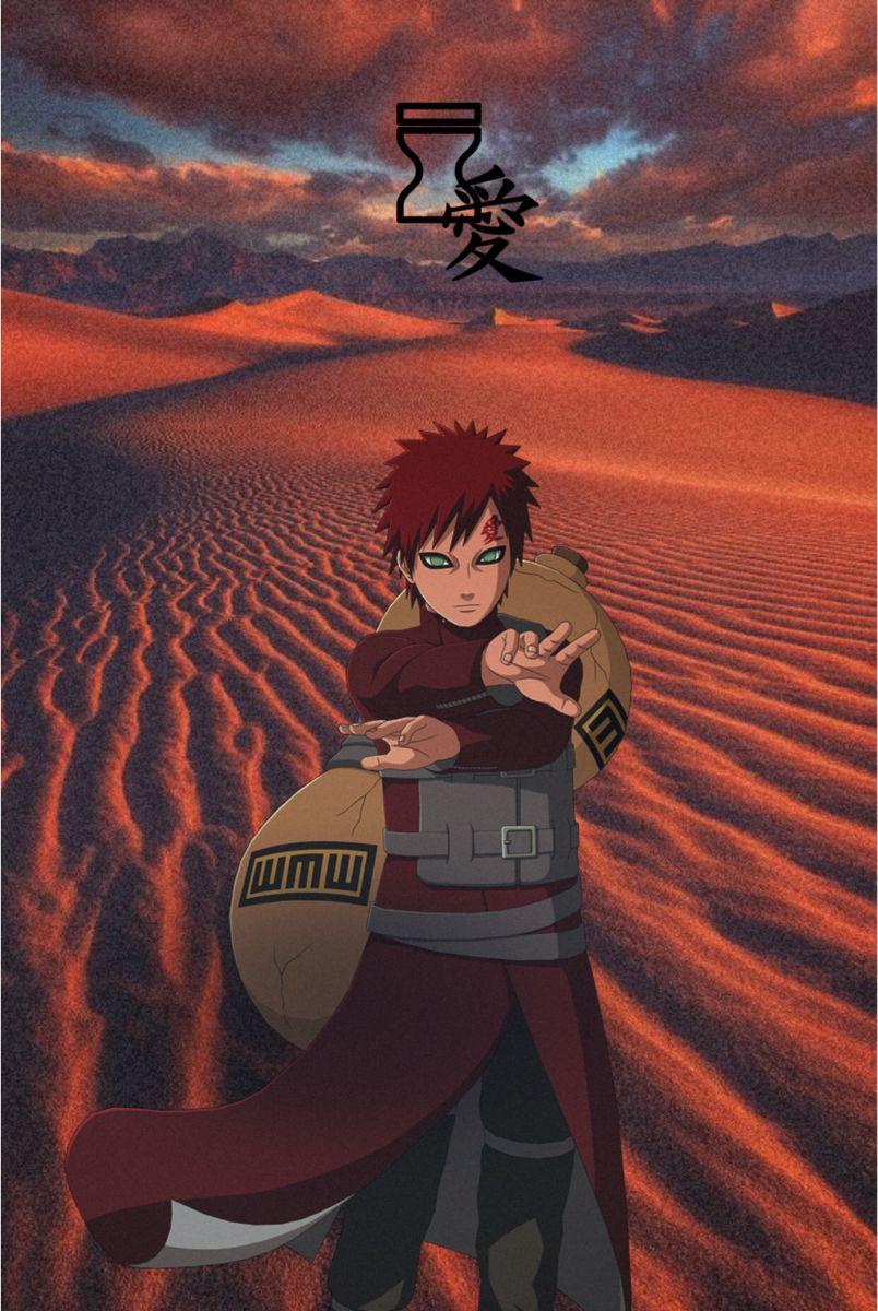 Gaara V 2020 G Gaara Naruto Shipuden Yaponskie Illyustracii
