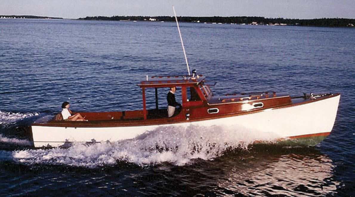 Santa Marie Classic Jarvis Newman 36 Wooden Boats Boat