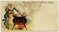happy new year 1890 alan mays tags old cooking boys strange vintage ads
