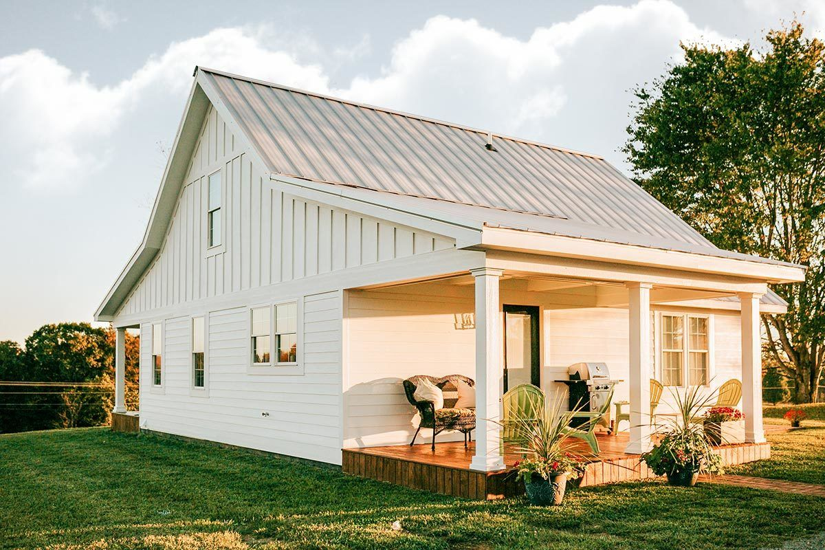 Plan 77640fb Bright And Airy Country Farmhouse Country Home