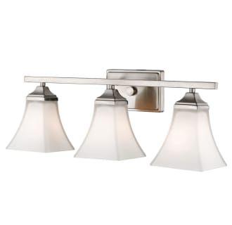Photo of Millennium Lighting 633-BN Brushed Nickel 3 Light 23″ Wide Bathroom Vanity Light