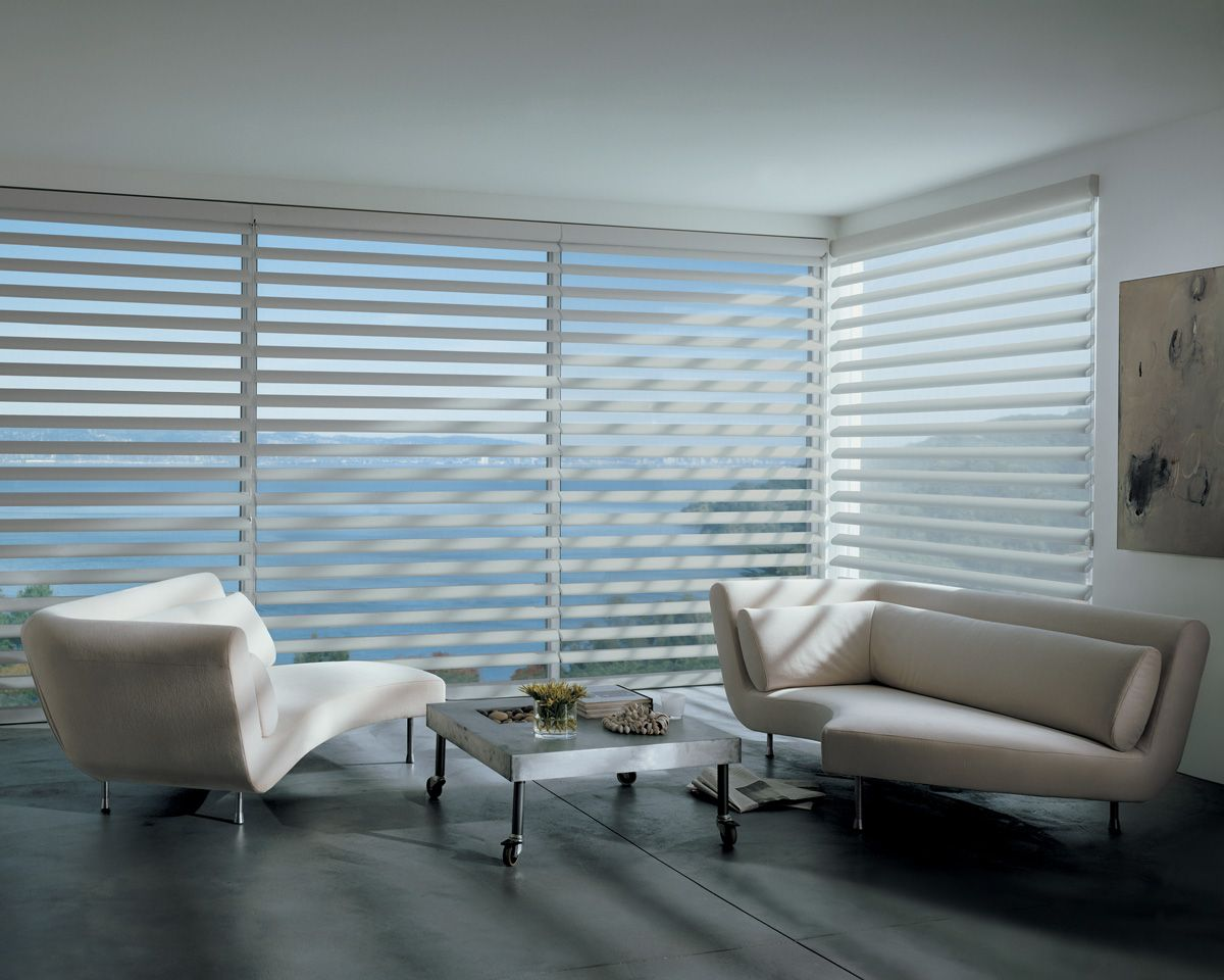 Pirouette easy rise blinds in a livingroom favorite places