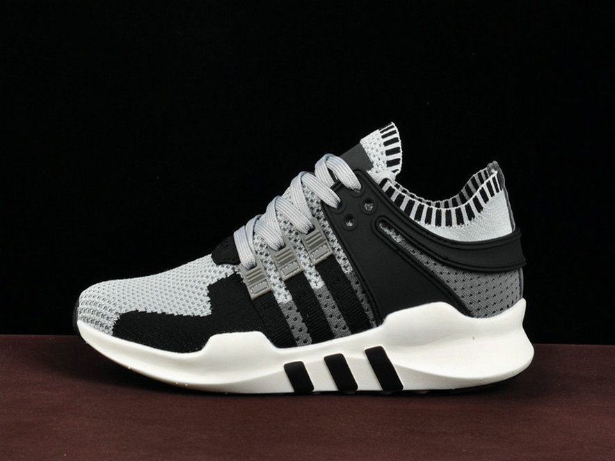 check out eaead e9cdb Adidas EQT Support ADV Unisex and Grey Black Ba8339 Shoe