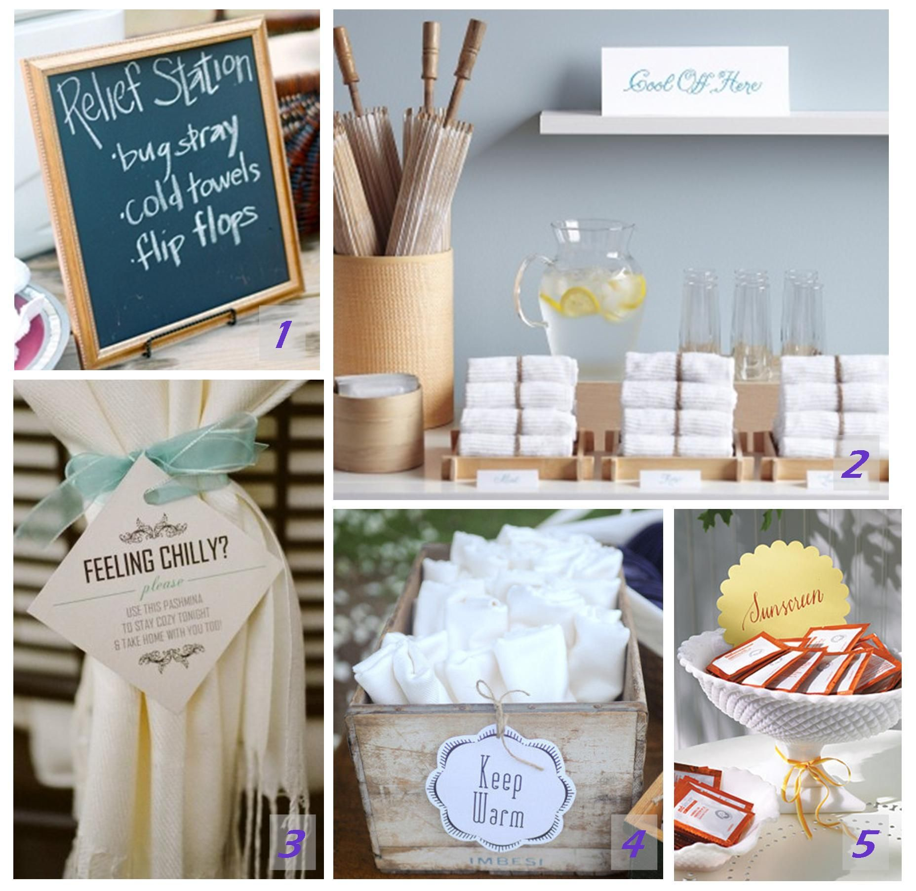 Noted wedding touches sunscreen wipes wedding and weddings noted wedding touches junglespirit Choice Image