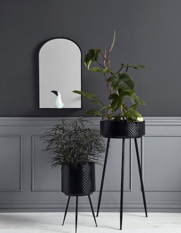 Luxe Vs Less Plant Holders Large Planters Metal