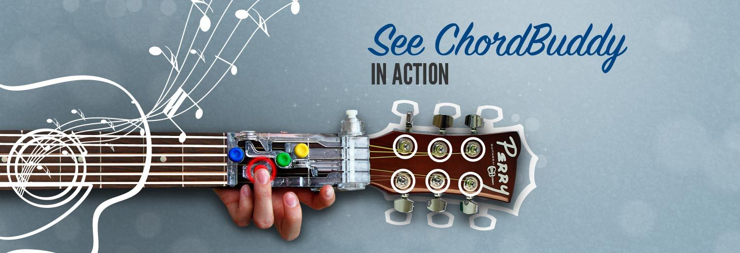 Chord Buddy Makes Learning Guitar Easier I Want To Try This My