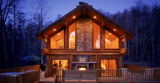 Watershed Cabins Completely Furnished Luxury Log Cabins