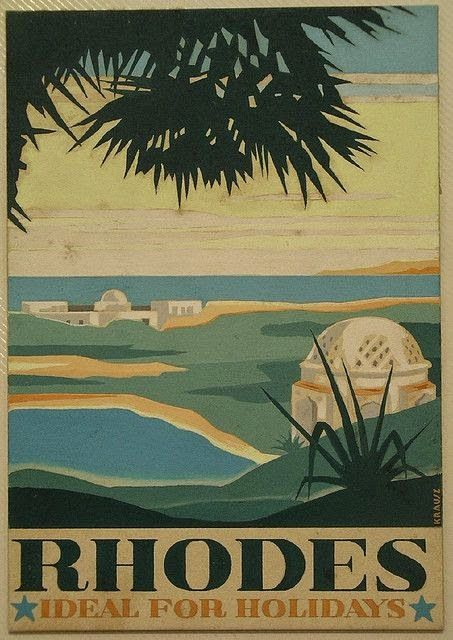 50 Of The Most Beautiful Vintage Travel Posters Of Greece Vintage Travel Posters Travel Posters Vintage Travel