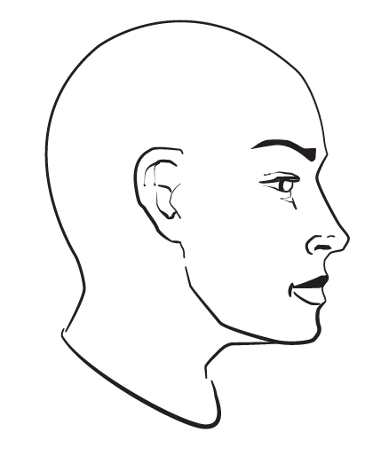 1 Drawing The Human Head Drawing The Human Head Drawing Templates Drawings