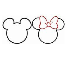 Resultado de imagen para printable mickey mouse ears template ...