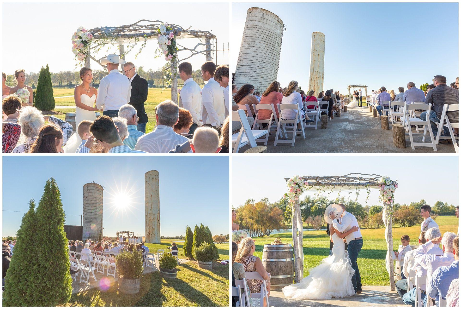 Romantic Fall Wedding At Talon Winery In Lexington
