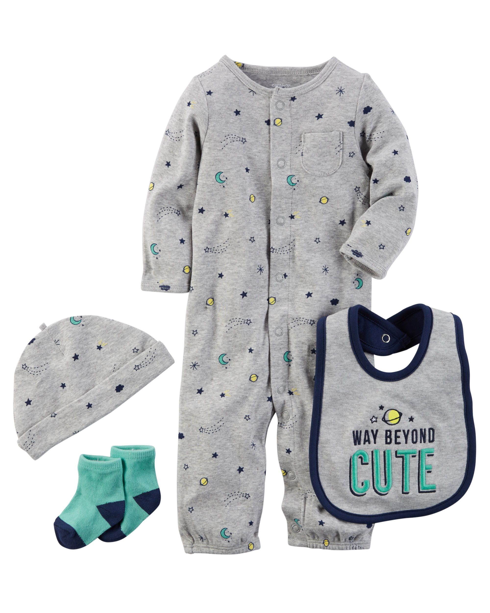 e988ffcaa Baby Boy 4-Piece Babysoft Take-Me-Home Set from Carters.com. Shop clothing  & accessories from a trusted name in kids, toddlers, and baby clothes.