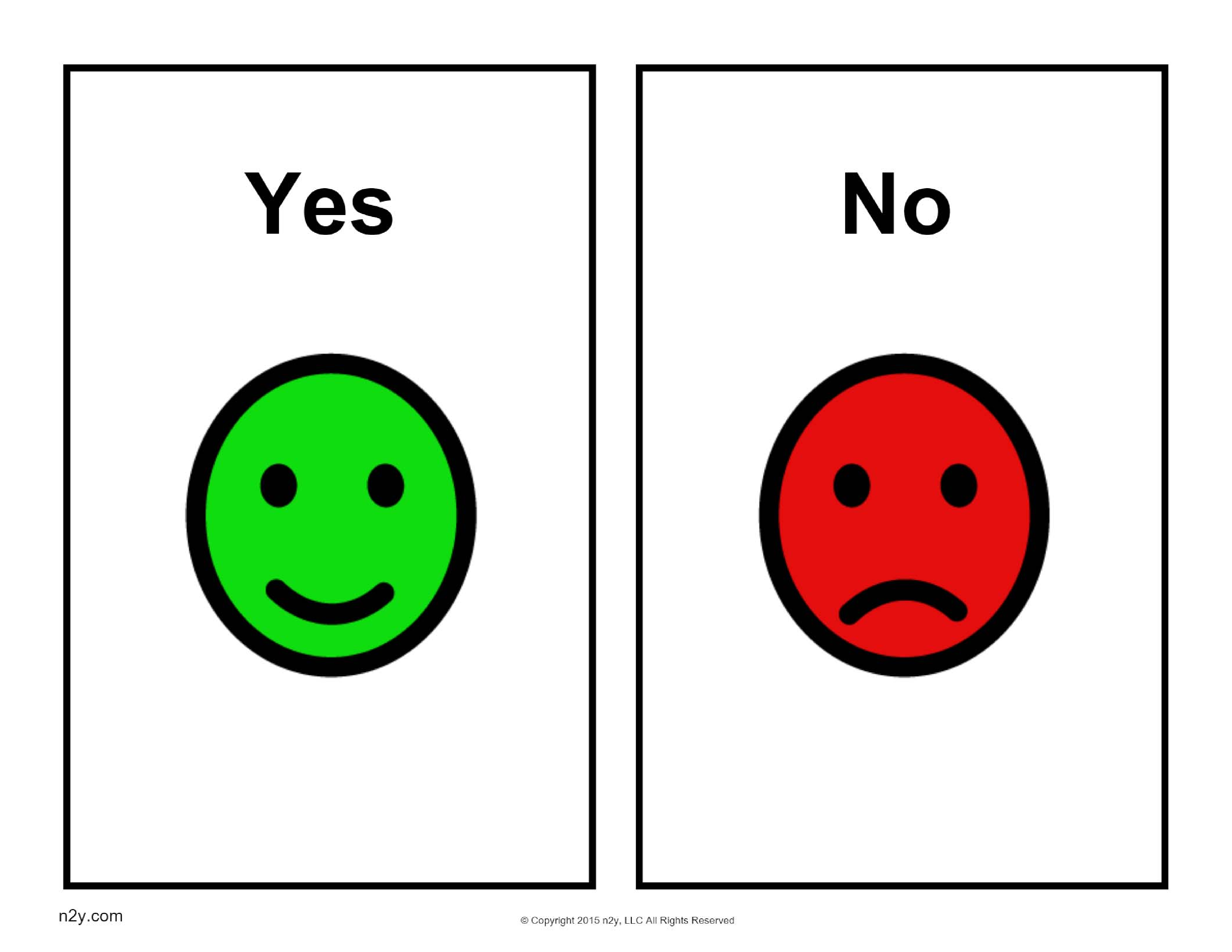 Help Your Students Understand The Purpose Of Yes Versus No