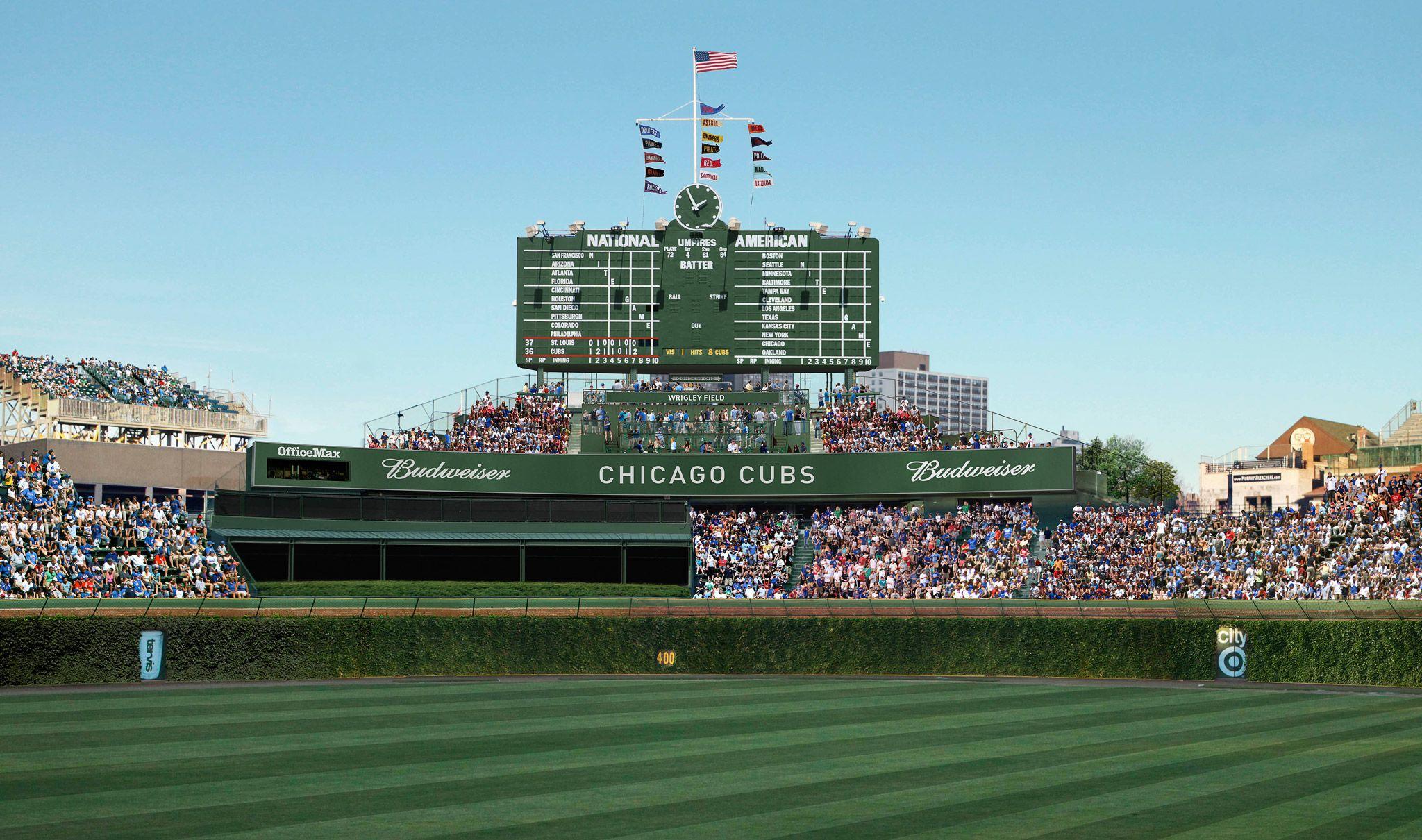 Proposed Wrigley Field Renovations Wrigley Field And Chicago - Chicago map showing wrigley field