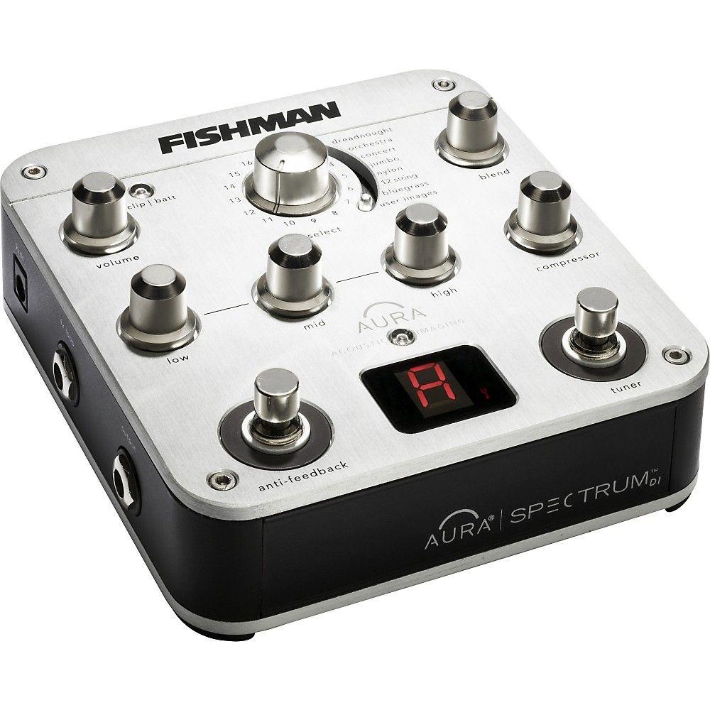 Fishman Aura Spectrum Di And Acoustic Guitar Preamp Guitar Tuners Acoustic Guitar Acoustic Instrument