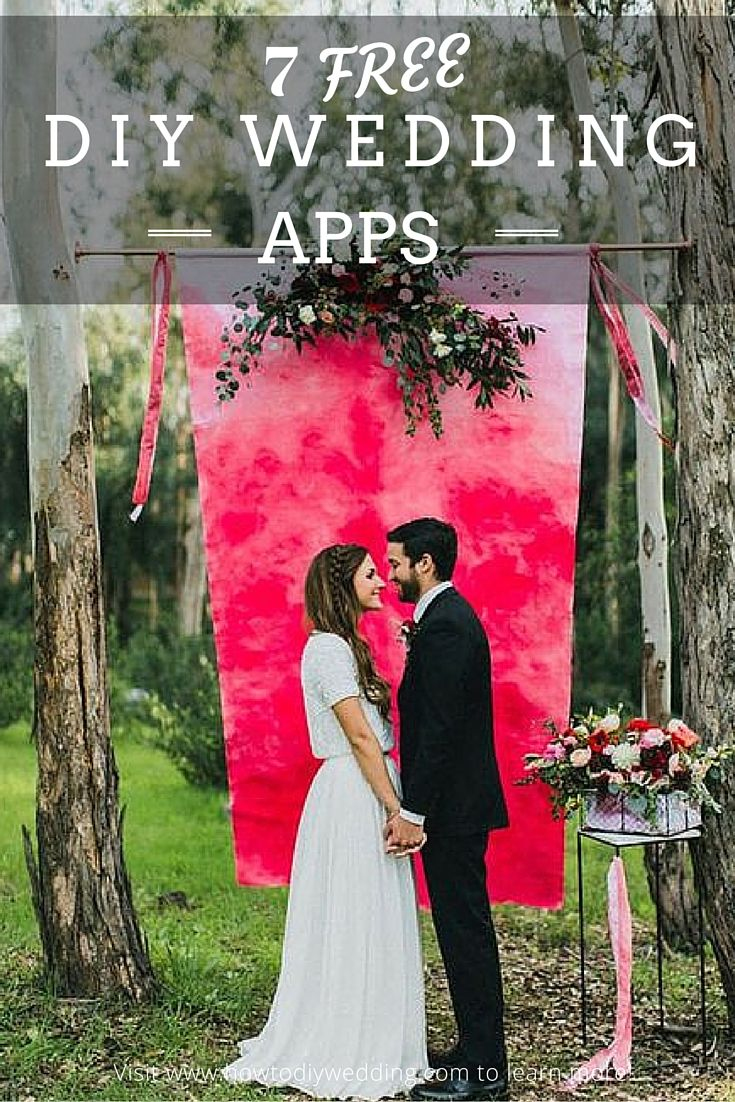 The Diy Wedding Planner Apps Curate All Of The Best Wedding Resources From The Internet Into One Watercolor Wedding Garden Wedding Inspiration Wedding Backdrop