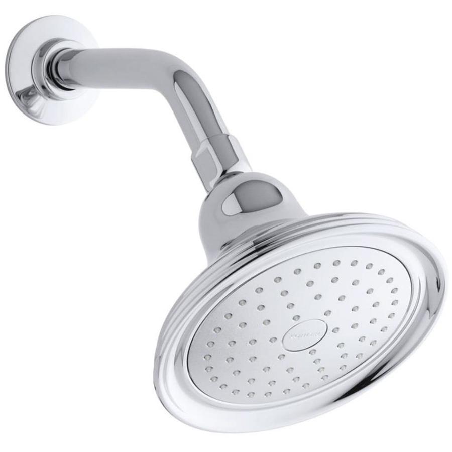 Kohler Devonshire Polished Chrome 1 Spray Shower Head At Lowes Com
