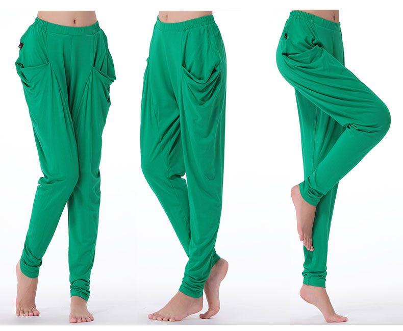 Ropa De Baile Modal Pantalones Sueltos Square Dance Fitness Pantalones Seccion De La Viga Pantalones De Pierna Haren Pantalones Dama Kiyafet Kadin Modasi Kadin