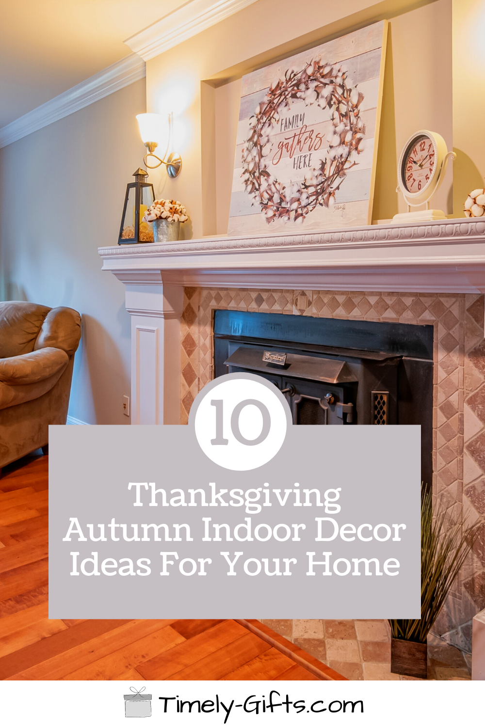 Check out these thanksgiving indoor decor ideas? This article will have 10 festive indoor decor ideas for thanksgiving and autumn! See these great decor ideas to make your house feel more like autumn and fall! #thanksgiving #thanksgivingdecor #falldecor #autumndecor #indoordecor #decorideas #seasondecor #pumpkindecor #fundecor #easydecor #holidaydecor #fauxdecor