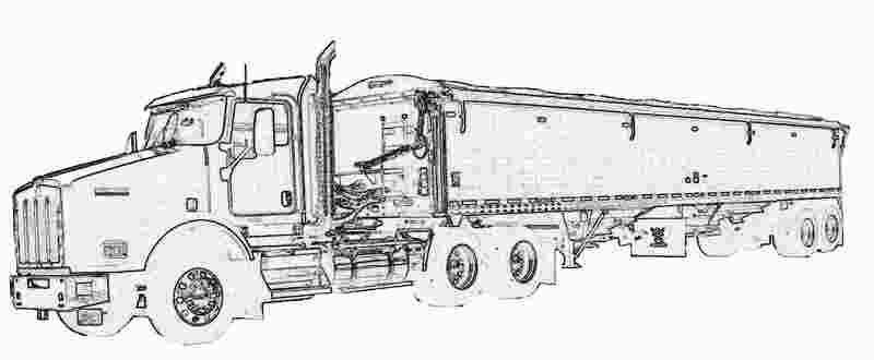 Grain Truck Coloring Pages Truck Coloring Pages Cars Coloring