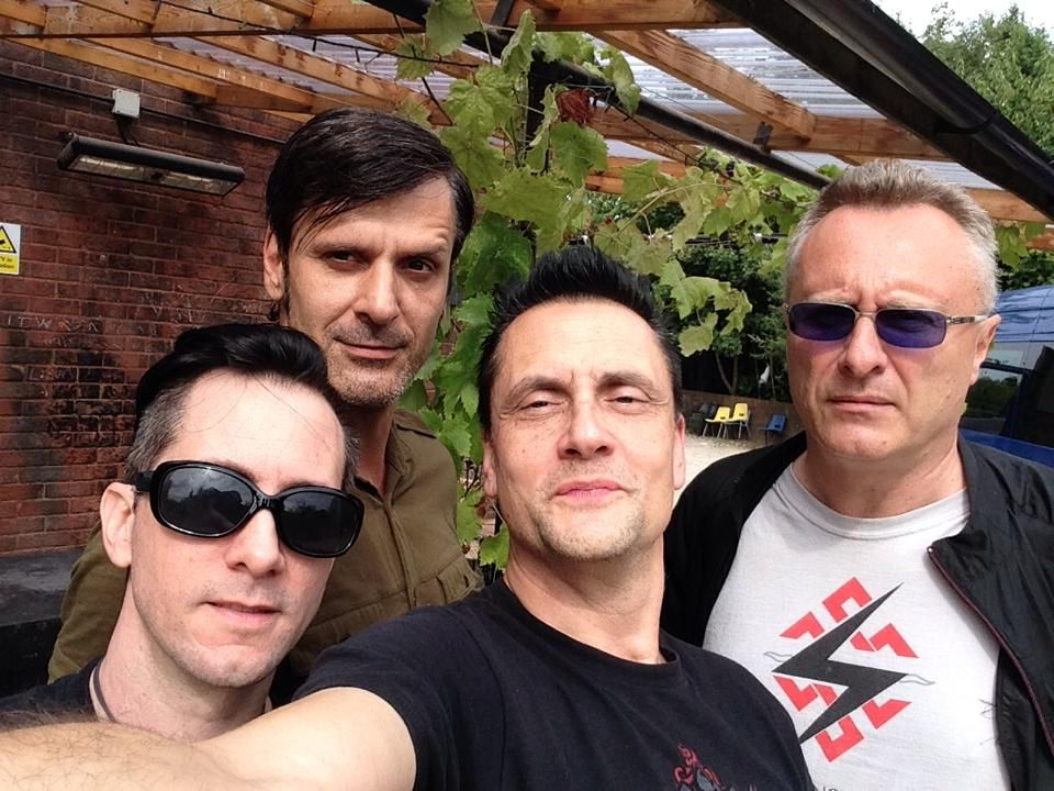 Die Krupps Out The Back Of The Talking Heads Music Venue In Southampton England August 1st 2014 Selfie By Jurgen Engle Die Krupps Music Venue Talking Heads
