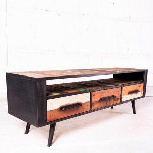 Meuble Tv Industriel Meuble Tv Bois Design Industriel Table Basse Style Industriel Mobilier De Salon Meuble Bois Metal