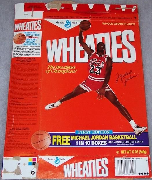 The History Of The Olympics According To Wheaties Boxes Michael