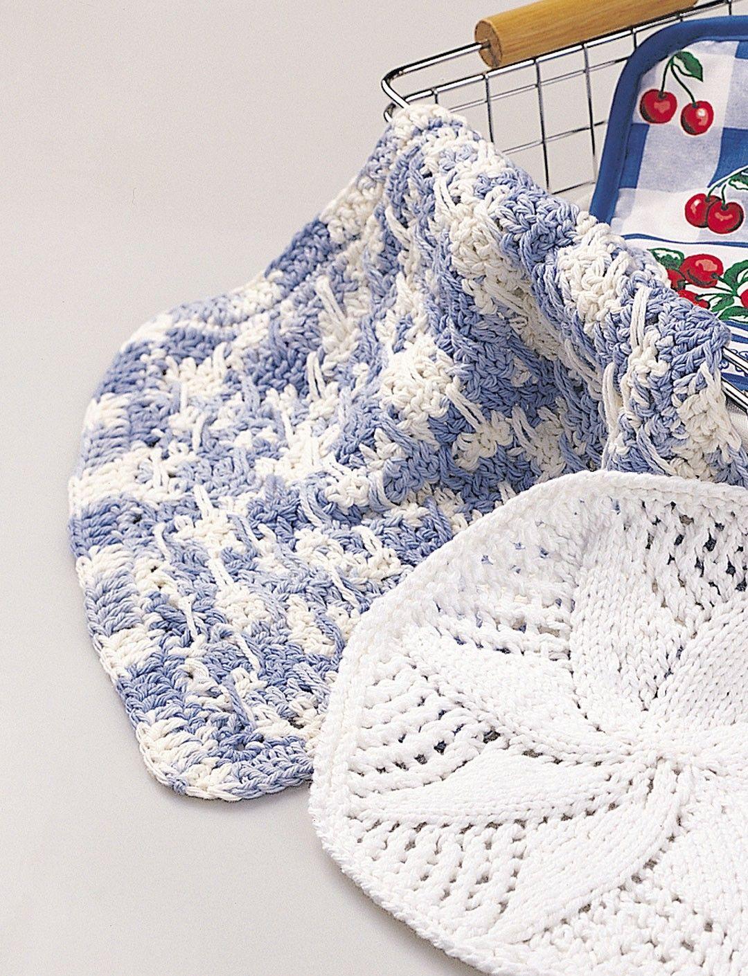 Yarnspirations.com - Lily Lacy Dishcloth - Patterns | Yarnspirations ...