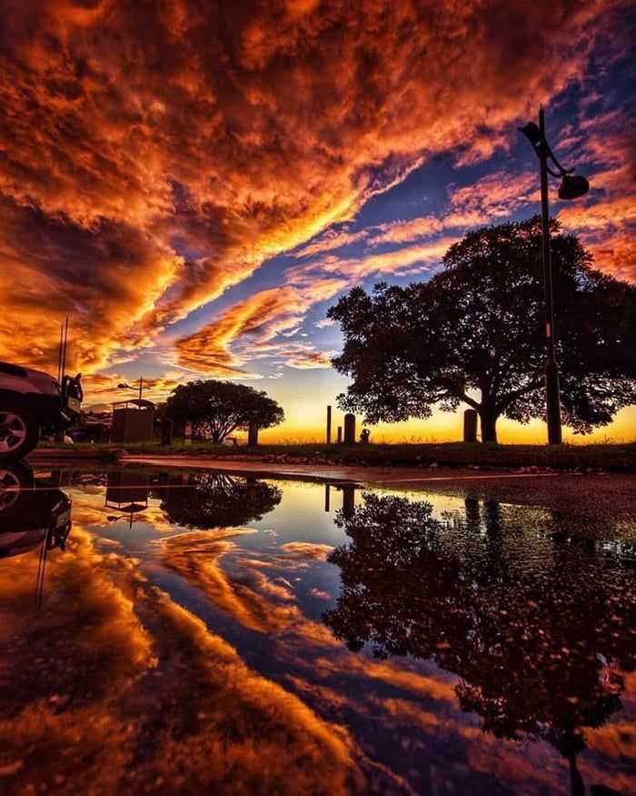 Landscape Photography 32 Fantastic Photos: Sunset After A Storm In Queensland, Australia In 2019
