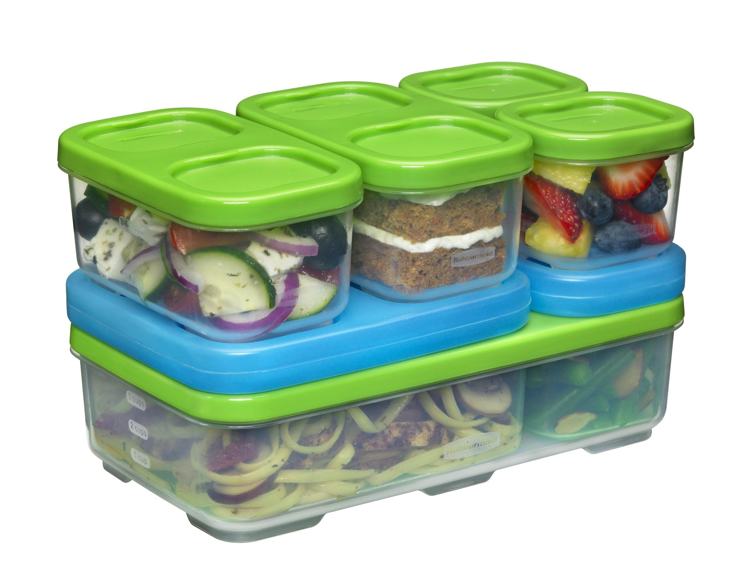 Amazon Com Rubbermaid Lunchblox Sandwich Kit 1806231