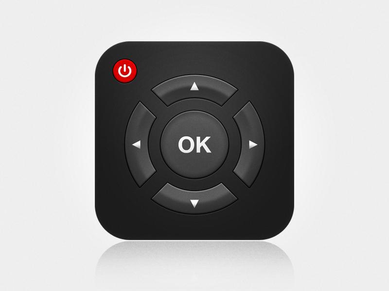 Remote App Icon Ios app icon, App icon, App icon design